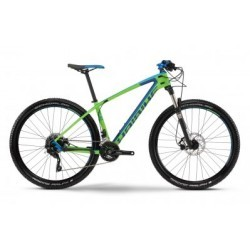 HAIBIKE 2016 Vélo Complet Carbone FREED 7.40 27.5´´ Vert Bleu
