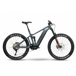 VTT Electrique BMC 2018 Trailfox AMP TWO Shimano XT 11v / Shimano STPS E-8000 Gris Orange