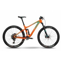 VTT Tout Suspendu BMC 2018 Speedfox 02 ONE 29´´ Sram X01 Eagle 12v Orange Vert