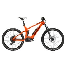 VTT Tout Suspendu TREK Powerfly FS 9 LT 2018 - Orange/Noir