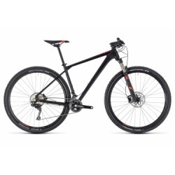 VTT Semi-Rigide Cube Reaction Pro Shimano XT 11V 29 Noir / Rouge 2018