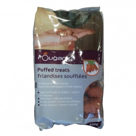 Friandises chevaux FOUGASNACK carotte - 500grs