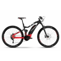 VTT Electrique Haibike Sduro FullNine 10.0 27.5´´ Shimano Deore/XT 10V 2018 Noir/Rouge