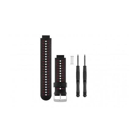 GARMIN Bracelet FORERUNNER (230/235/630) Noir/Rouge