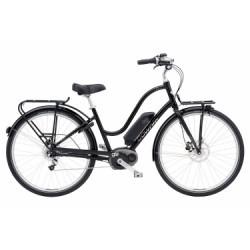 Vélo de Ville Électrique Electra Townie Commute Go! 8i Shimano Nexus 8V Noir 2018