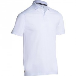POLO GOLF HOMME 500 BLANC