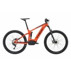 VTT Tout-Suspendu Electrique Trek PowerFly FS 5 27.5´´ Shimano Deore 10V Orange / Noir 2019