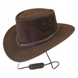 Chapeau équitation JAMOO marron