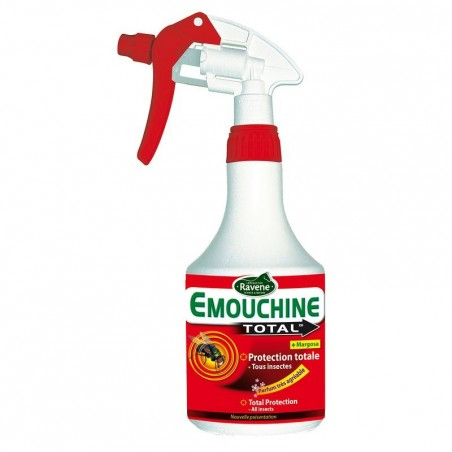 Spray insecticide équitation chevaux et poneys EMOUCHINE TOTAL - 500ml