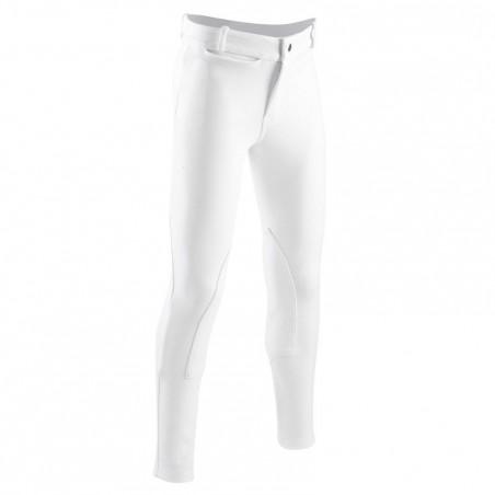 Pantalon équitation enfant concours SCHOOLING blanc