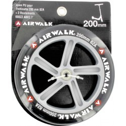 ROUES   AIRWALK ROUE TROT + RLTS ABEC 7  - 200MM - 82A