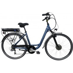 VELO ELECTRIQUE   SCRAPPER E RAILWAY 3 BLUE