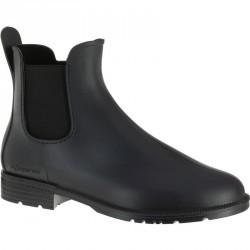 Boots équitation enfant et adulte SCHOOLING 100 noir