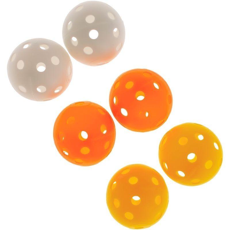 Balles de Golf perforées X6