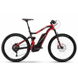 VTT Electrique Haibike Xduro FullSeven Carbon 9.0 27.5´´ Shimano XT M8000 11 Vitesses 2018 Noir/Roug