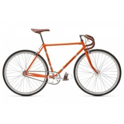Vélo Fixie Peugeot LU01 2018 Orange