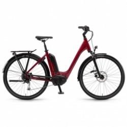 VTC-Electrique Tria 9 50 cm - Mixte - Rouge