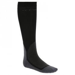 Chaussettes équitation adulte EQUAREA noir X 1 paire