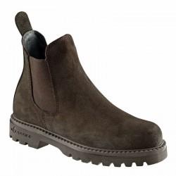 Boots équitation enfant SENTIER 300 marron