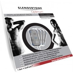 ACCESSOIRE ELECTROSTIMULATION   SLENDERTONE ELECTRODES OPTIMUM 5X5