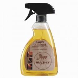 Savon glycériné pour cuir en spray équitation - 500ml