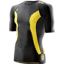 1140M-TSHIRT RUN MC / SM H  homme SKINS Men's Short sleeves top