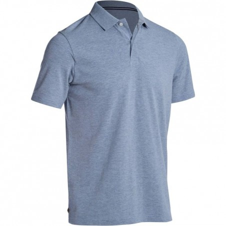 POLO GOLF HOMME 500 GRIS CHINE