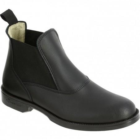 Boots équitation enfant et adulte CLASSIC noir