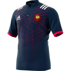MAILLOT RUGBY REPLICA   ADIDAS FFR DOMICILE 16