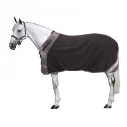 Chemise d'écurie équitation POLAR 800 noir / gris  - poney et cheval