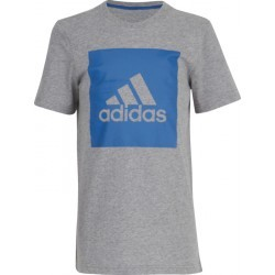 1145N-TEXT MS TSHIRT MC G   ADIDAS YB LOGO TEE 2