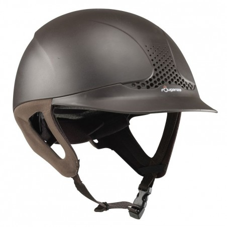 Casque équitation SAFETY marron