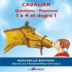 Livre d'équitation Questions Réponses 1 à 4 et degré 1