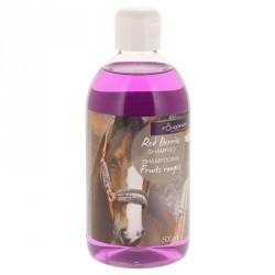 Shampoing équitation chevaux et poneys FRUITS ROUGES - 500ml
