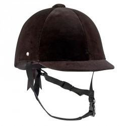 Bombe équitation C400 VELOURS noir - tailles 50, 51 et 60 cm