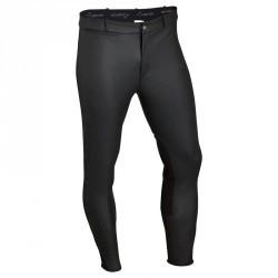 Pantalon chaud et imperméable équitation homme KIPWARM noir