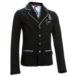 Veste de concours équitation enfant PADDOCK noir