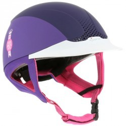 Casque équitation SAFETY violet