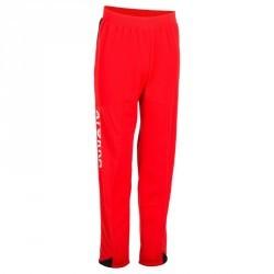 Pantalon gardien de handball H500 rouge et noir