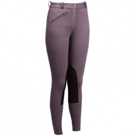 Pantalon équitation femme VICTORIA marron clair