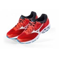 Chaussures de Running Mizuno WAVE RIDER 22 Bleu / Rouge