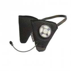 Ecouteurs Bluetooth pour casque équitation noir