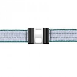 Connecteurs de ruban 20 mm pour clôture équitation