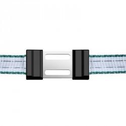 Connecteurs de ruban 40 mm pour clôture équitation