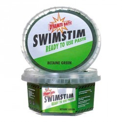 PÂTE À ESCHER PÊCHE AU COUP SWIM STIM READY TO USE PASTE BETAINE GREEN