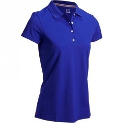 POLO GOLF FEMME 500 JAZZ BLUE
