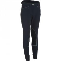 Pantalon équitation femme PERFORMER 500 marine et gris
