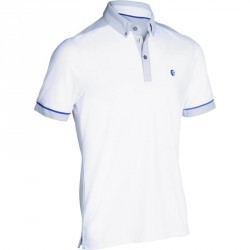 POLO GOLF HOMME 900 BLANC / GRIS