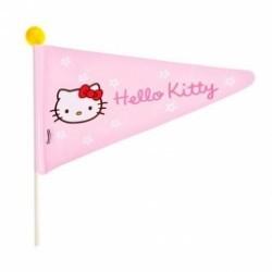 Fanion sécurité vélo enfant - Hello kitty