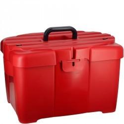 Mallette de pansage équitation GB 700 rouge